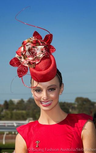 Hats Have It  Racing Fashion Favourite Hats from Melbourne Cup Day   Spring  Racing Carnival b50637da0f8