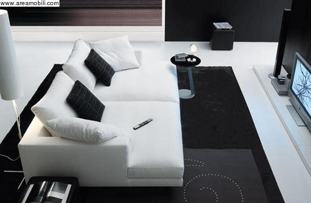 Divano nero ~ Brian divano grande profondità jesse divani divani