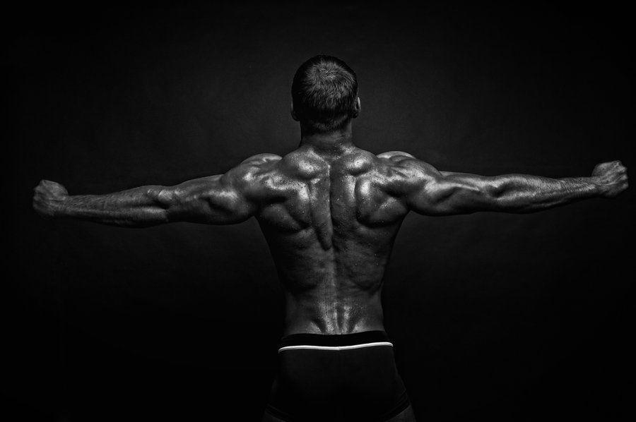 Conferring With Demons by =vishstudio on deviantART | bodybuilder ...