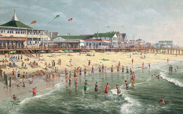 A Rehoboth Beach Memory by Paul McGehee Rehoboth beach