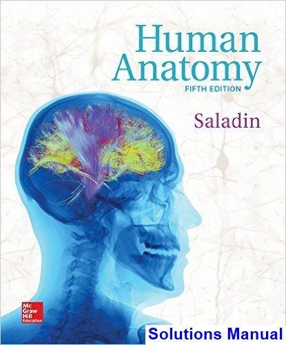 Human Anatomy 5th Edition Saladin Solutions Manual Test Bank