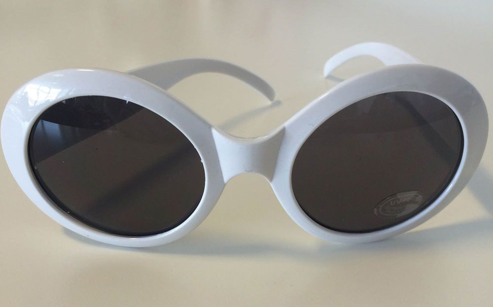 White and Red Hyper Vision Goggles by elope