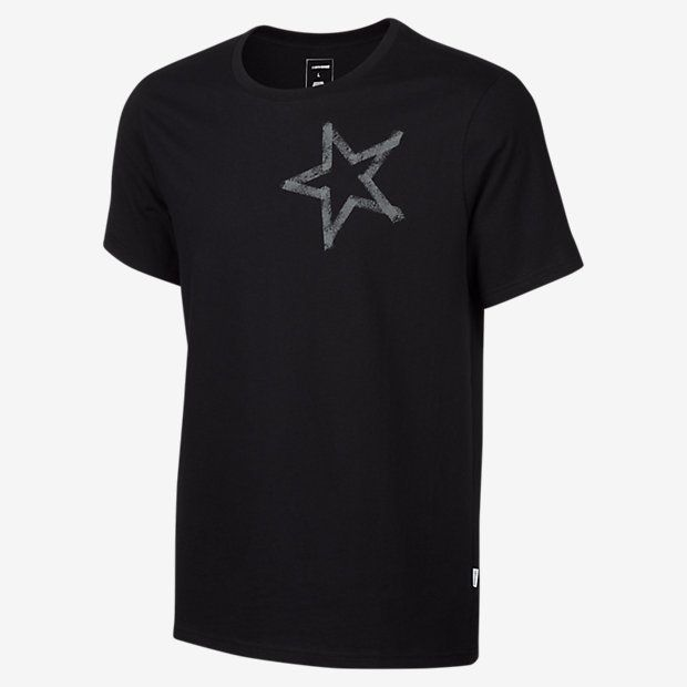 b13d28f265f0 Converse Reflective Tape Star Chuck Taylor Patch Men s T-Shirt ...