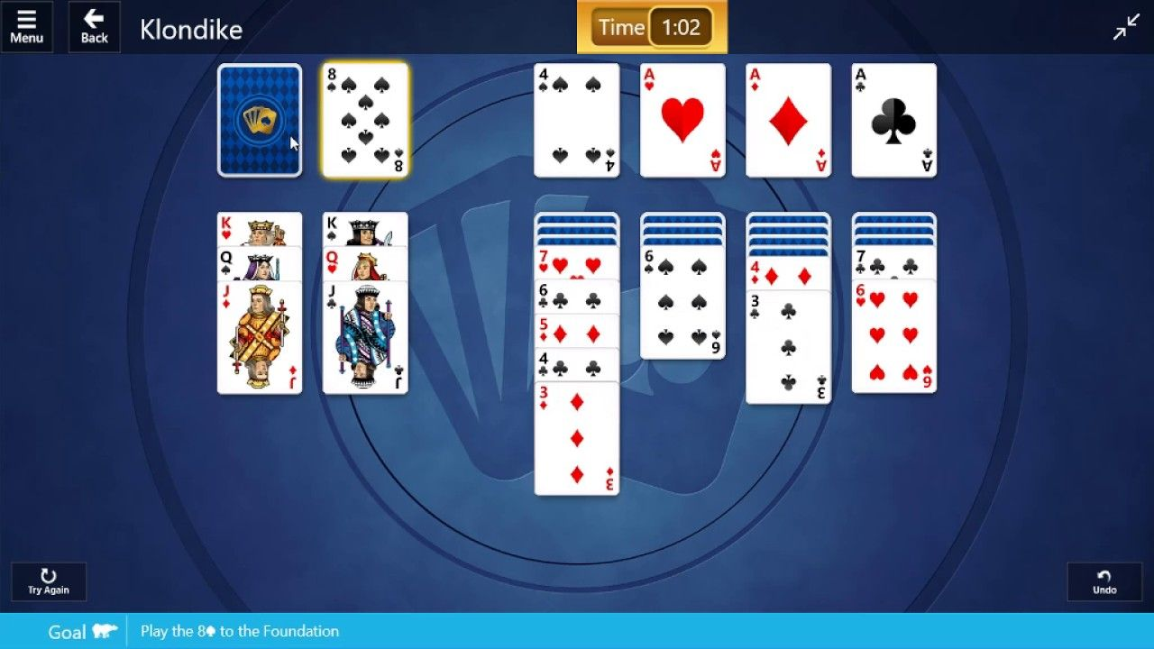 Microsoft solitaire collection klondike 17th january