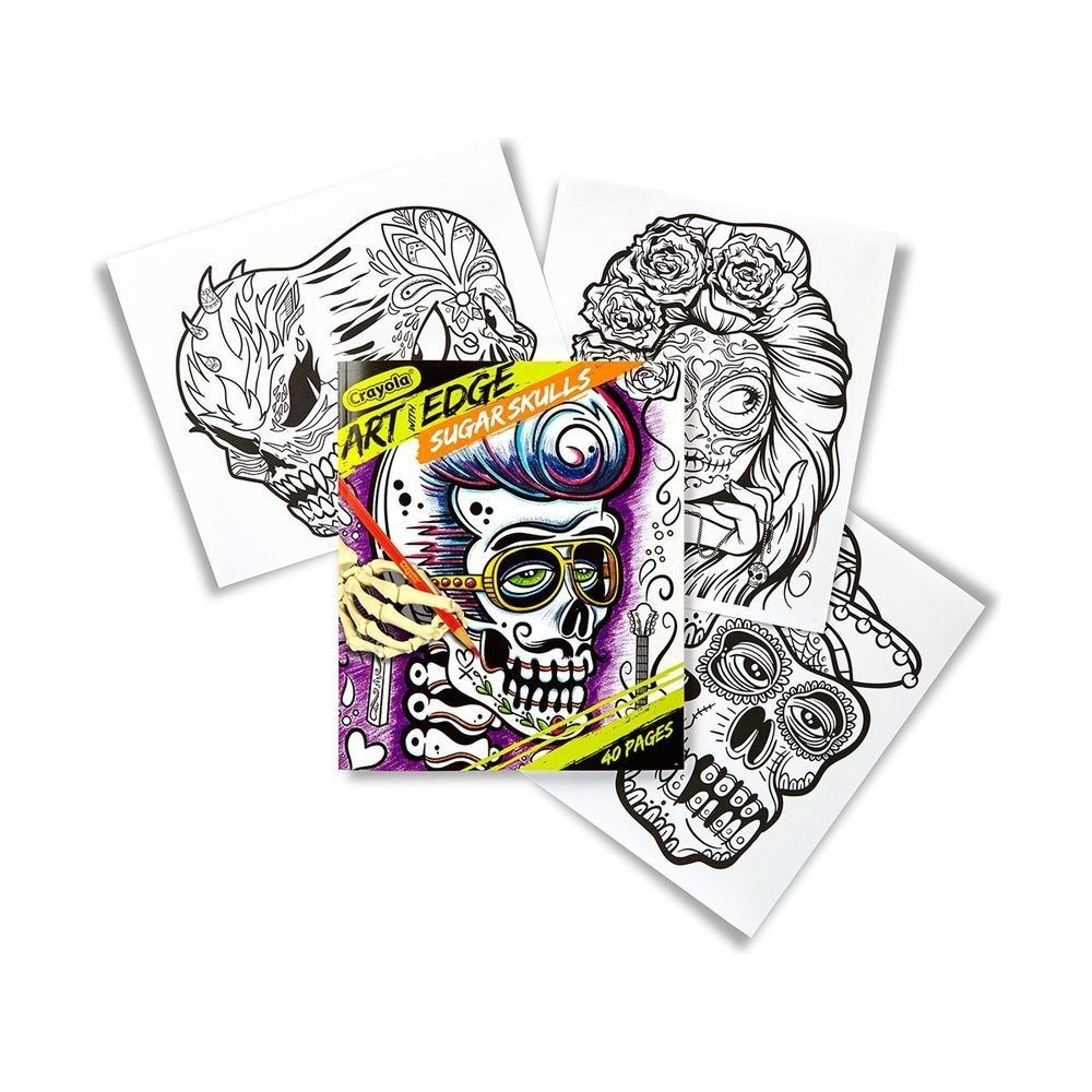 Crayola Colouring Book Art With Edge 40 Page Sugar