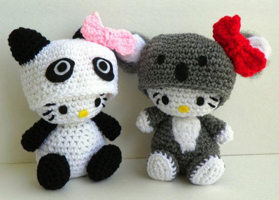 Hello Kitty Amigurumi Ohje Suomeksi : Hello Kitty Doll Hello Kitty Koala Crocheted by hookmiup ...