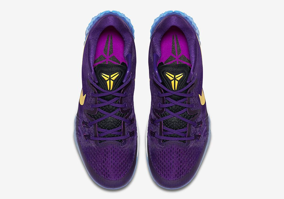 quality design 3ec31 cdea6 February 14,2017 Shoes Nike Zoom Kobe Venomenon 5 Lakers Court Purple  853939 570 Gold