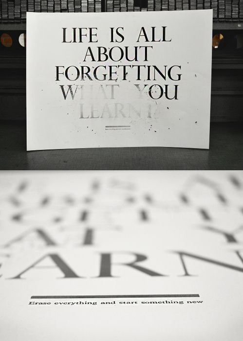 """""""life is all about forgetting..."""""""