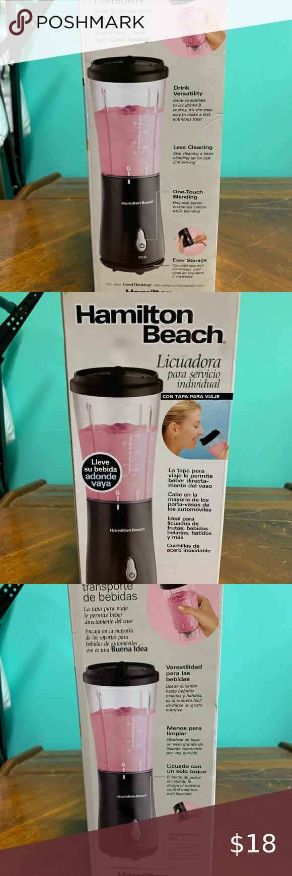 Brand New Hamilton Beach Blender Blender Hamilton Beach Hamilton