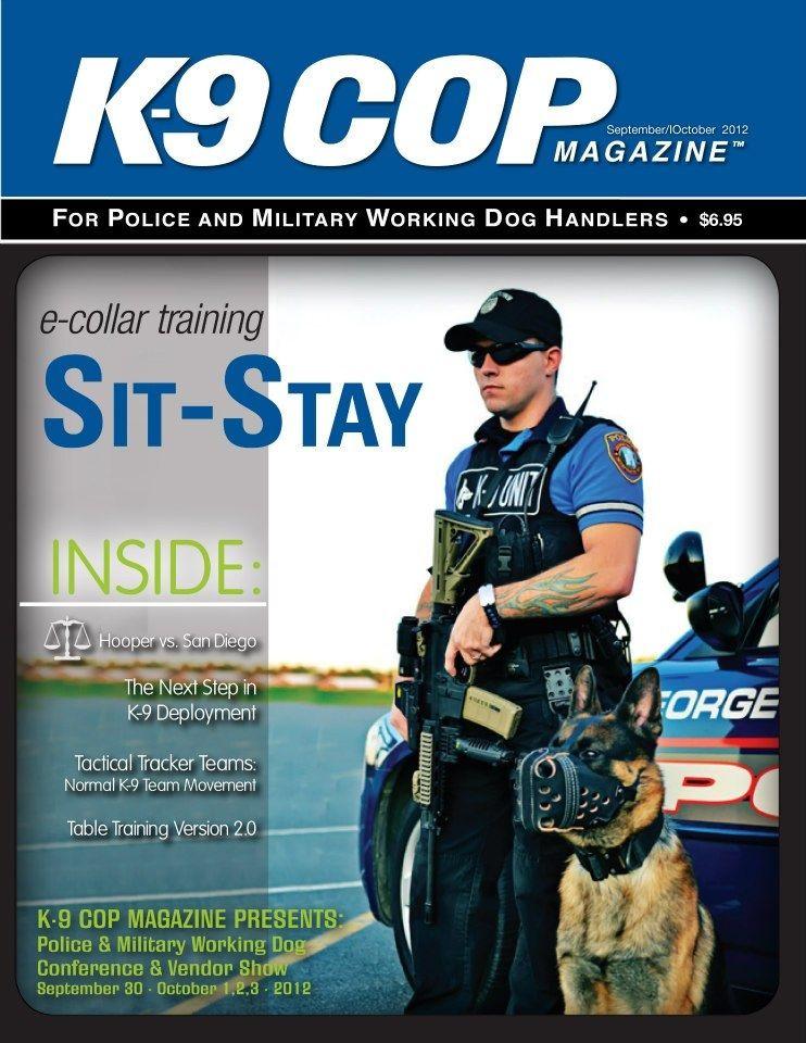 K9 cop magazine