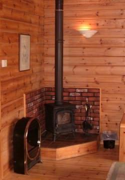 interior design for small cabin kitchens | Log Cabin Interior ...