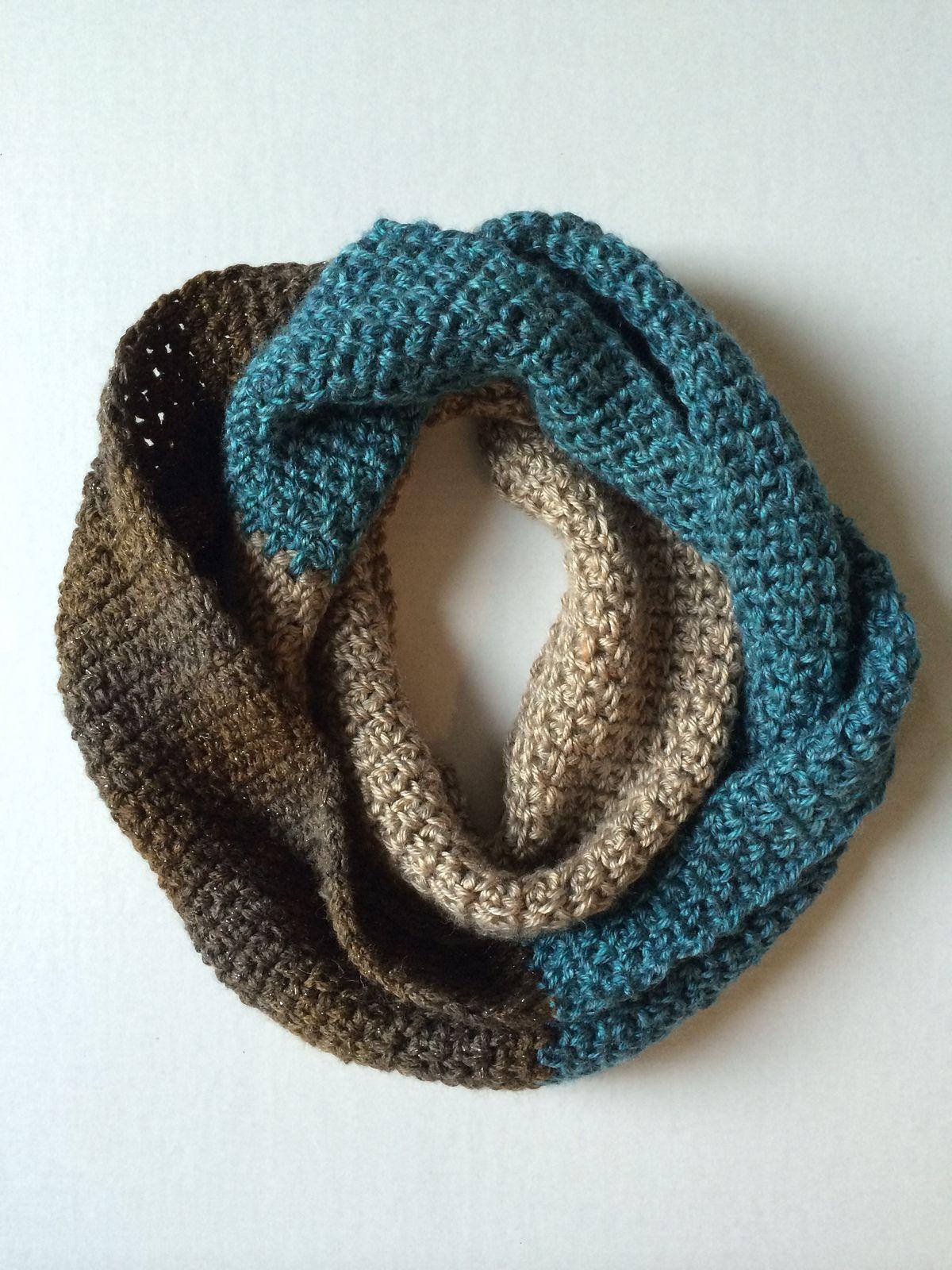 Sophia Infinity Scarf pattern by Kristina Olson   CRAFTS ...