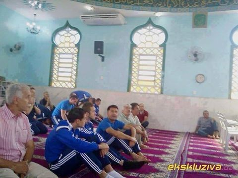 Be with god bosnia football team at the mosque koki noor be with god bosnia football team at the mosque thecheapjerseys Gallery