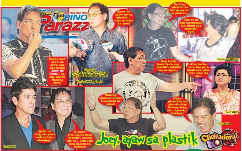 Joey, ayaw sa 'plastik'  http://www.pinoyparazzi.com/joey-ayaw-sa-plastik/