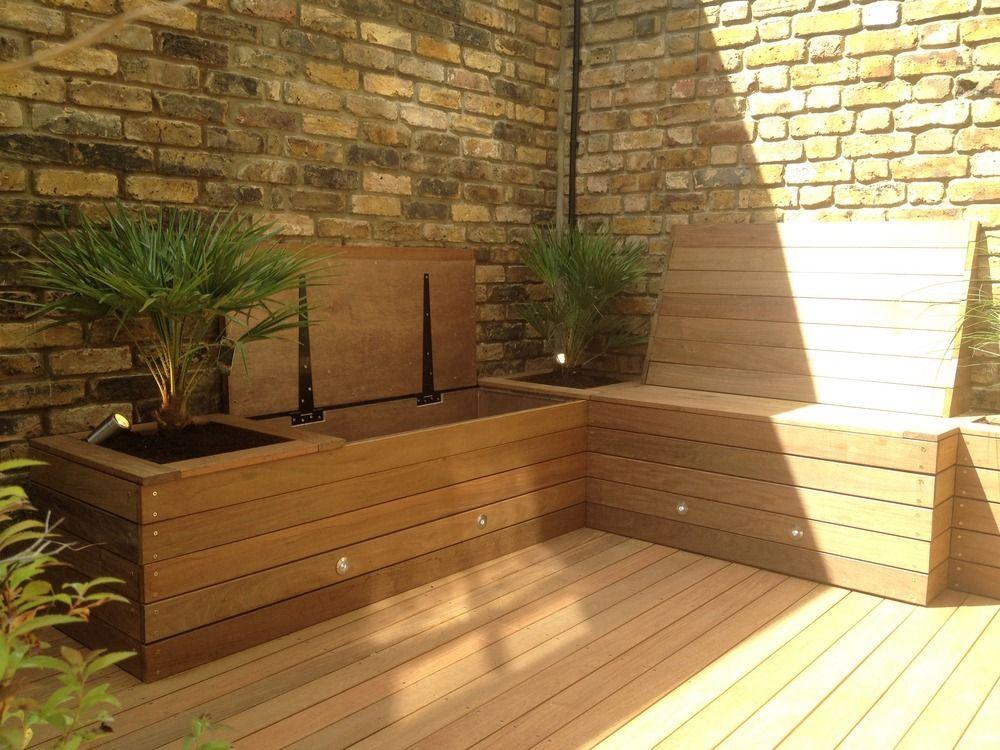 Storage-bench2 15 killer Garden Bench Decoration Ideas & 15 killer Garden Bench Decoration Ideas   Bench Gardens and Storage ...