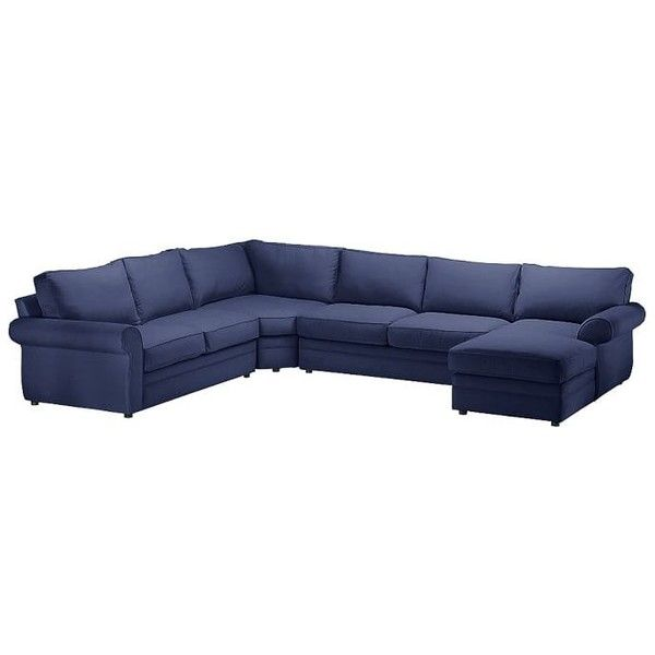 Pottery Barn Pearce Upholstered Left Arm 4 Piece Wedge Sectional  ... (