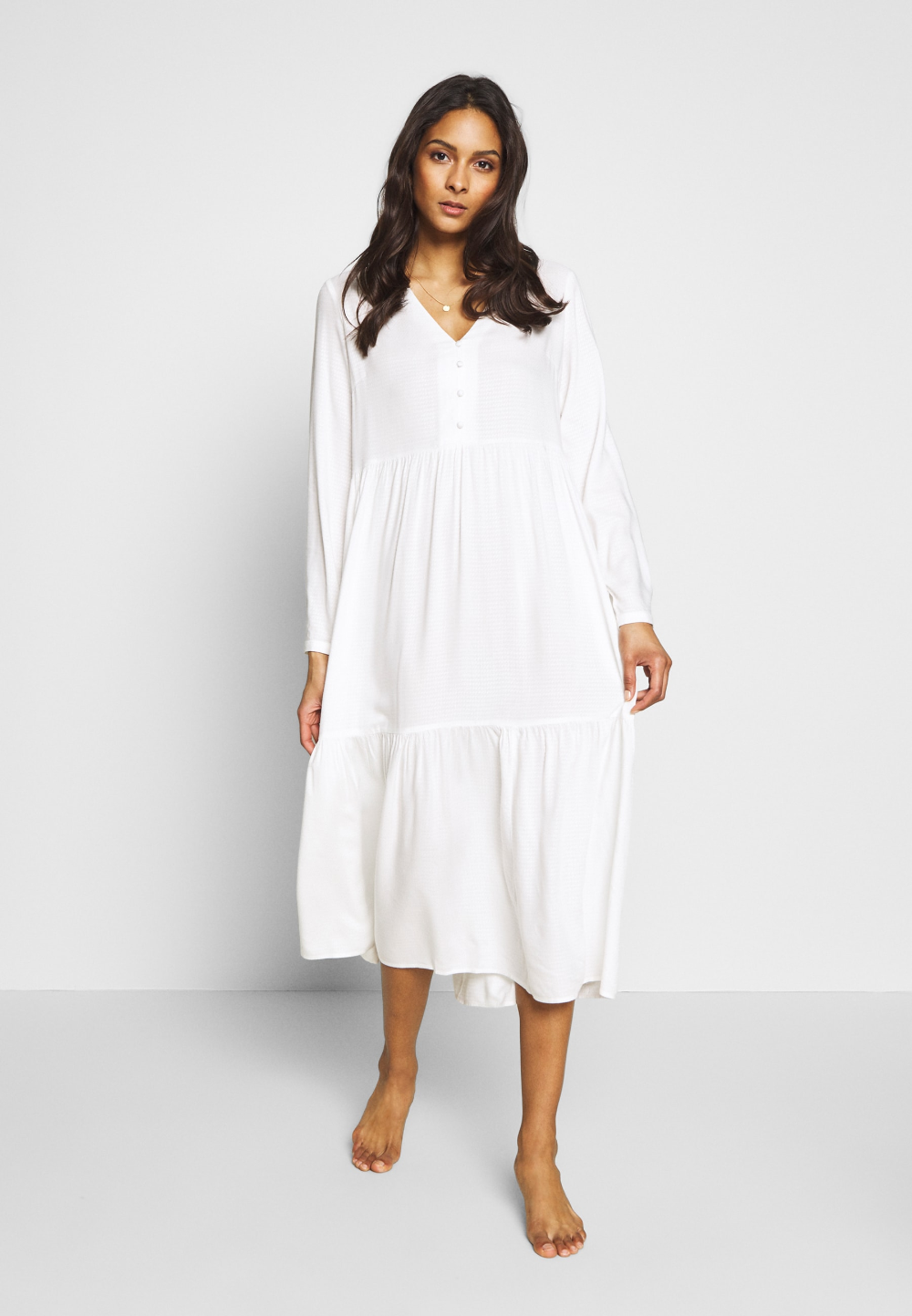 yas yasflokka long dress - strandaccessoire - star white