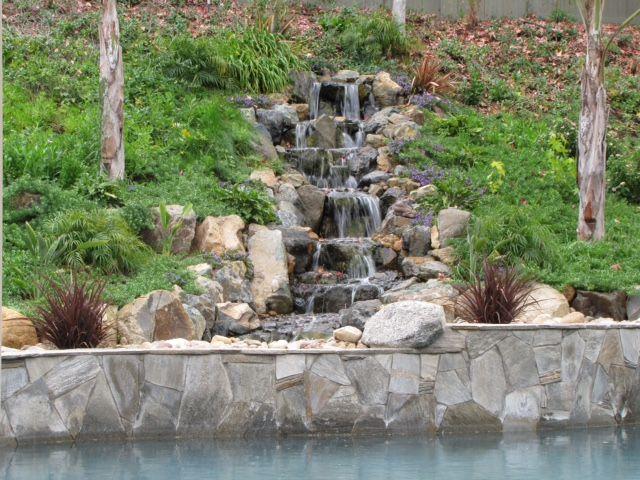 Pondless Waterfall Gallery | San Diego Ponds Koi Ponds And Waterfalls