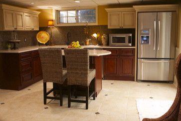 Tuscany And Brandywine Kitchen Cabinets Traditional Herringbone Backsplash Dark Cabinets Traditional Kitchen Cabinets Backsplash For White Cabinets