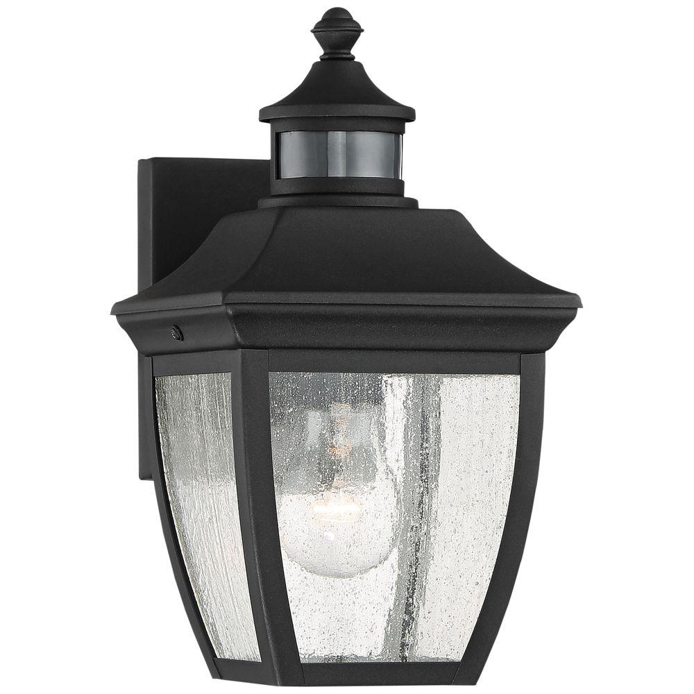 Beaufort 12 High Black Motion Sensor Outdoor Wall Light Style 42f40 Outdoor Wall Lighting Outdoor Wall Light Fixtures Wall Lights