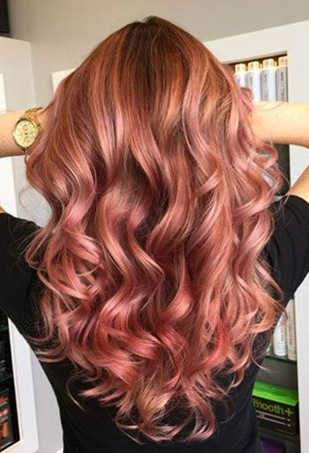 The Ultimate 2016 Hair Color Trends Guide Simply Organic Beauty Hair Styles Hair Color Rose Gold Gold Hair Colors