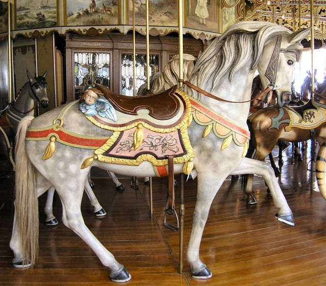 1905 PTC #6 Carousel at Kit Carson Co. Fairgrounds Burlington, CO