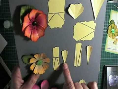 punch petals - - made out of OTHER punches! must see if you own Stampin' Up! punches!