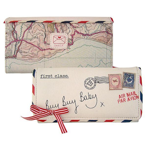 Totally Funky - Paper Plane Ladies Wallet