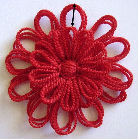 Flower Looms: Solomon\'s Knot Join | Loom Knitting | Pinterest ...