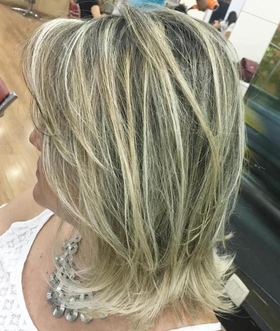 fun and flattering medium hairstyles for women blonde balayage