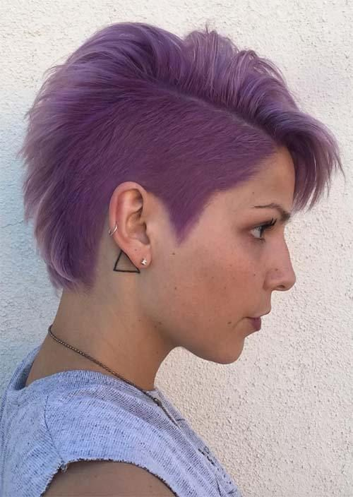 Rad Short Undercut Hairstyles 2018 For Women Undercut