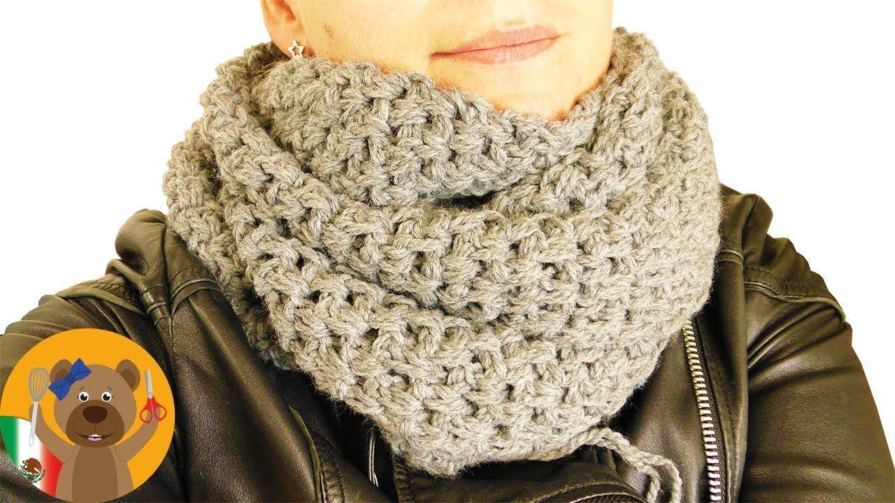 Tejindo una bufanda enorme | Tutorial fácil para principiantes ...