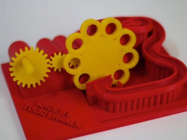7 kostenlose 3DDruckvorlagen für Kugelbahnen aus dem 3D