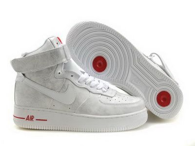 new product b5ebc 50bf4 Find Nike Air Force 1 High Mens White Red Hot online or in Footlocker. Shop  Top Brands and the latest styles Nike Air Force 1 High Mens White Red Hot at  ...