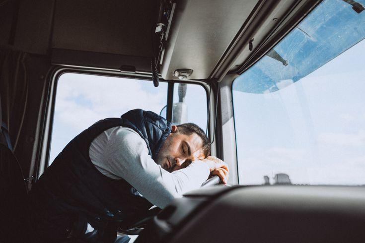 caminhoneiro cansado - rk motors