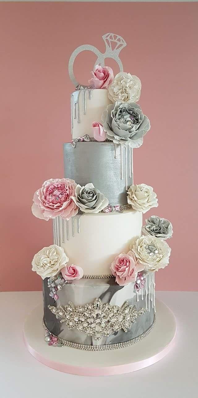 Pin by Dawn Montgomery on wedding   Pinterest   Cake, Cake designs ...