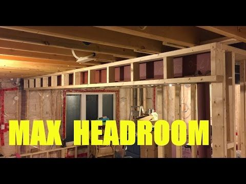 Basement Ceiling Soffit Bulkhead Design Youtube Basement Ceiling Waterproofing Basement Basement Ceiling Ideas Cheap