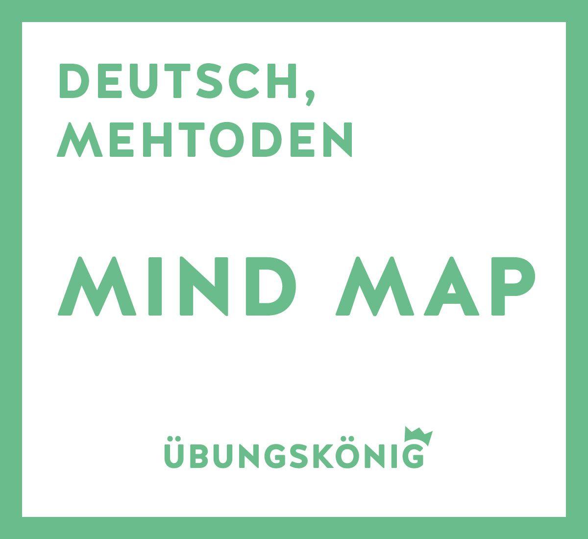 kostenlose arbeitsbl tter zum thema mind map f r deutsch und andere f cher am gymnasium und in. Black Bedroom Furniture Sets. Home Design Ideas