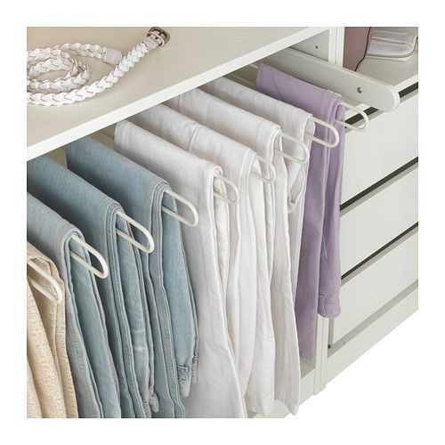komplement pull out pants hanger dark gray pant hangers. Black Bedroom Furniture Sets. Home Design Ideas