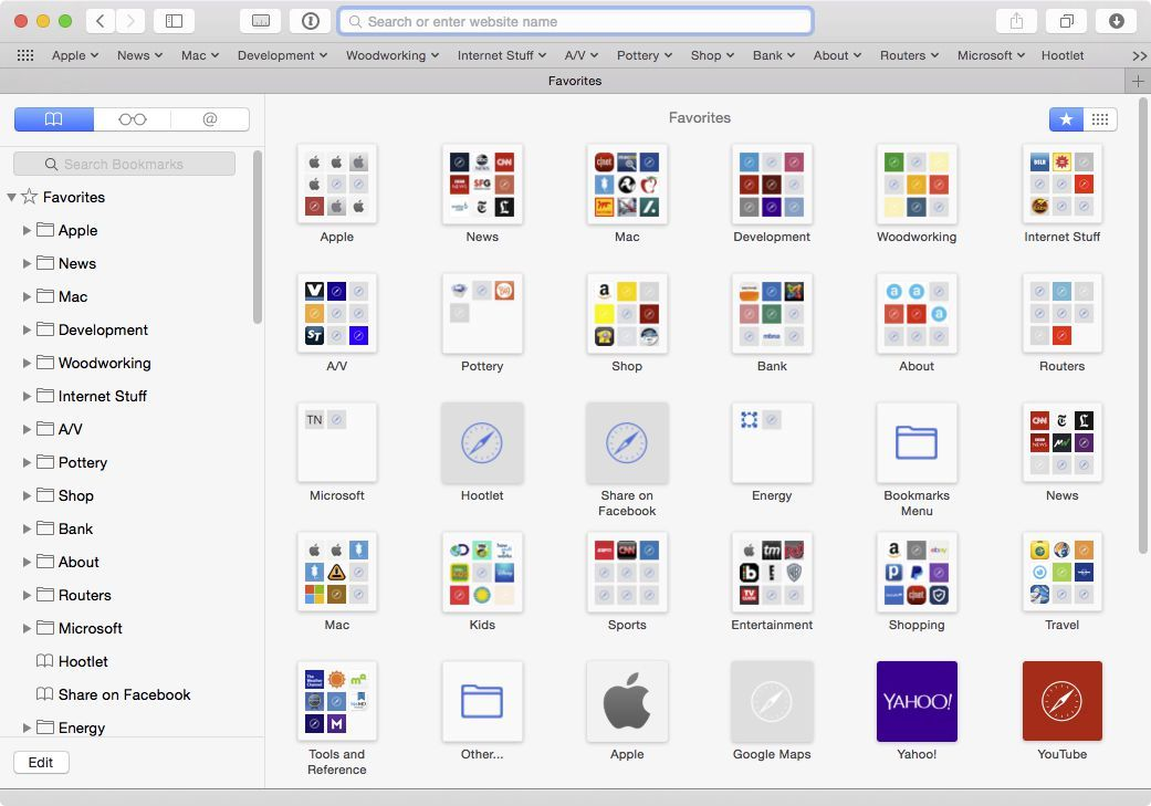 Sync Safari Bookmarks Using Dropbox Bookmarks Safari Popup Menu