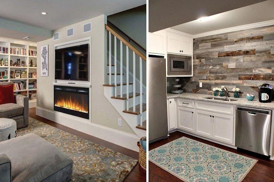 Basement Family Room | Large Basement Ideas | Basement Renovations Ottawa  Basem...#basem #basement #fam… in 2020 | Family room, Basement family room, Basement  remodel cost