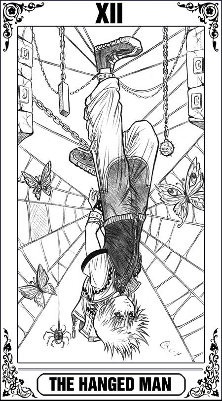 KH Tarot: The Hanged Man by Autumn-Sacura   My Religion   Pinterest ...