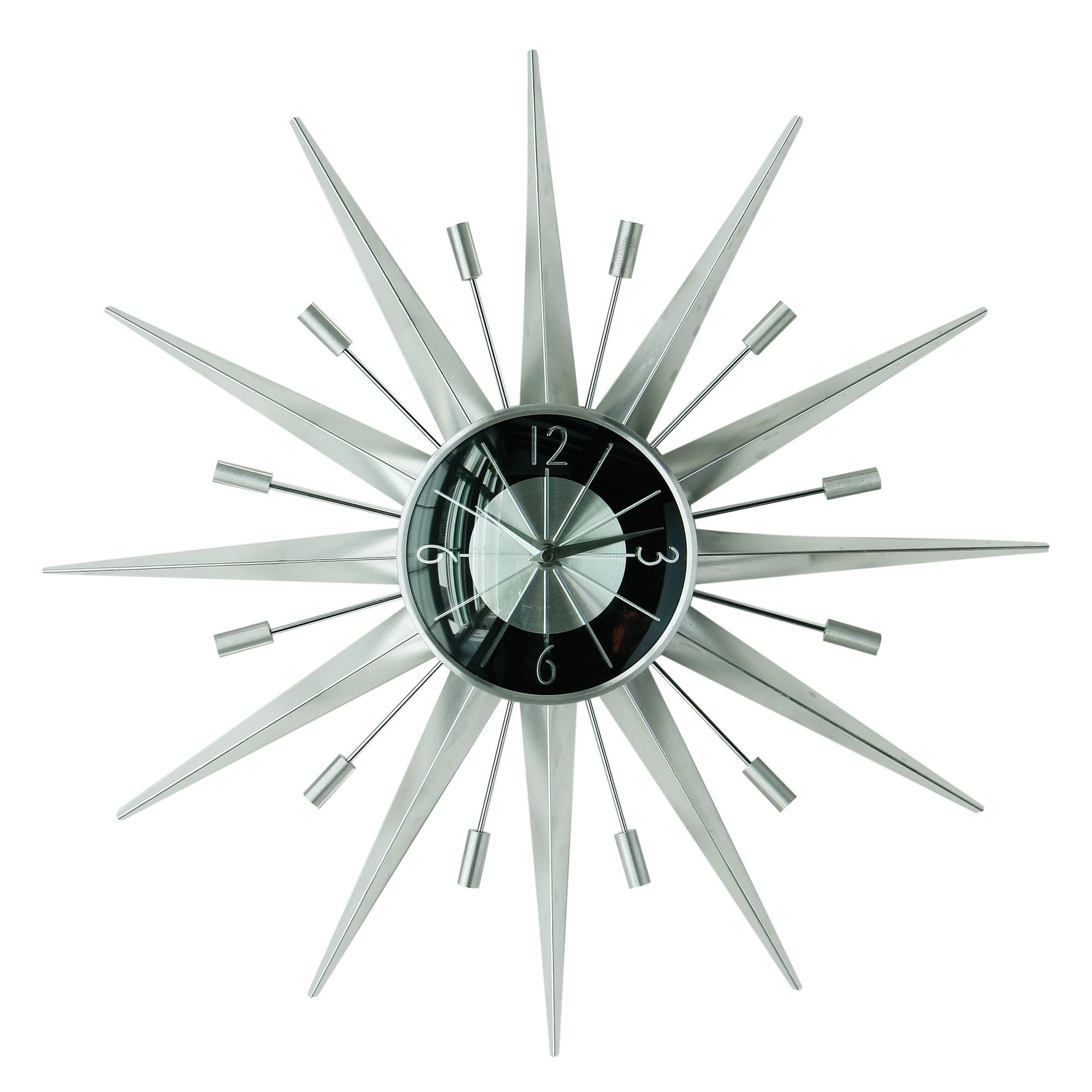 Premier housewares sunspoke wall clock wayfair uk wall clock buy premier housewares sunspoke wall clock from our clocks range at tesco direct amipublicfo Image collections