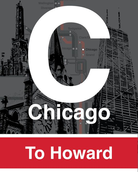 Cta l stop sign chicago red line chicago john hancock center cta l stop sign chicago red line by tcmcgphotography on etsy 5500 publicscrutiny Gallery