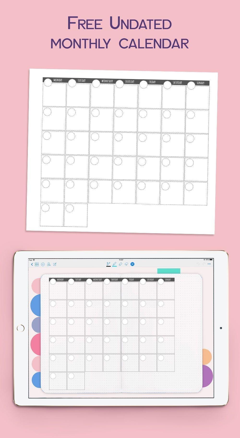 23+ Online monthly planner information