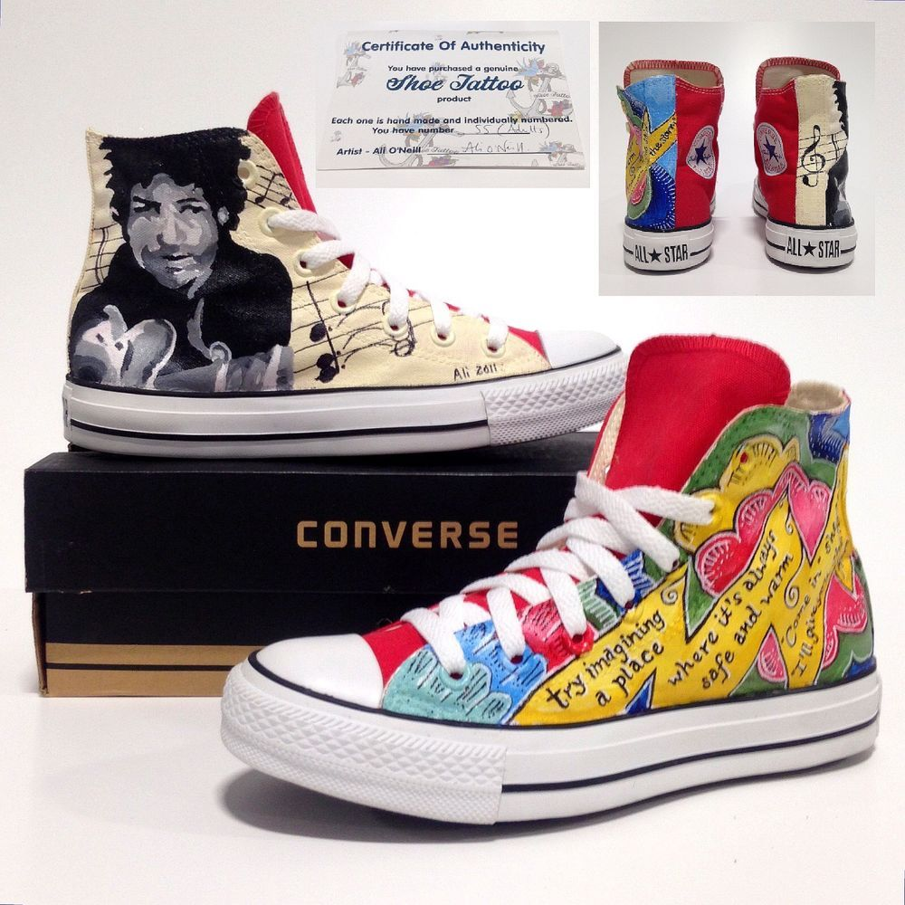 2739efee51 womens Converse All Star Bob Dylan Trainers sz 5 Mens Unisex Sneakers US 7  37.5 22859552332