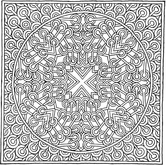 More MYSTICAL MANDALAS Coloring Book By The Illustrator Alberta Hutchinson Of Original Mystical Mandala