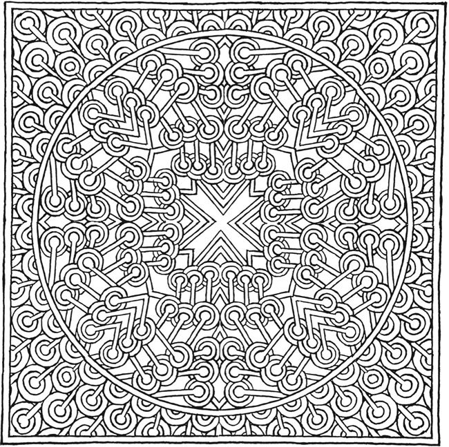 More MYSTICAL MANDALAS Coloring Book By The Illustrator Alberta Hutchinson Of Original