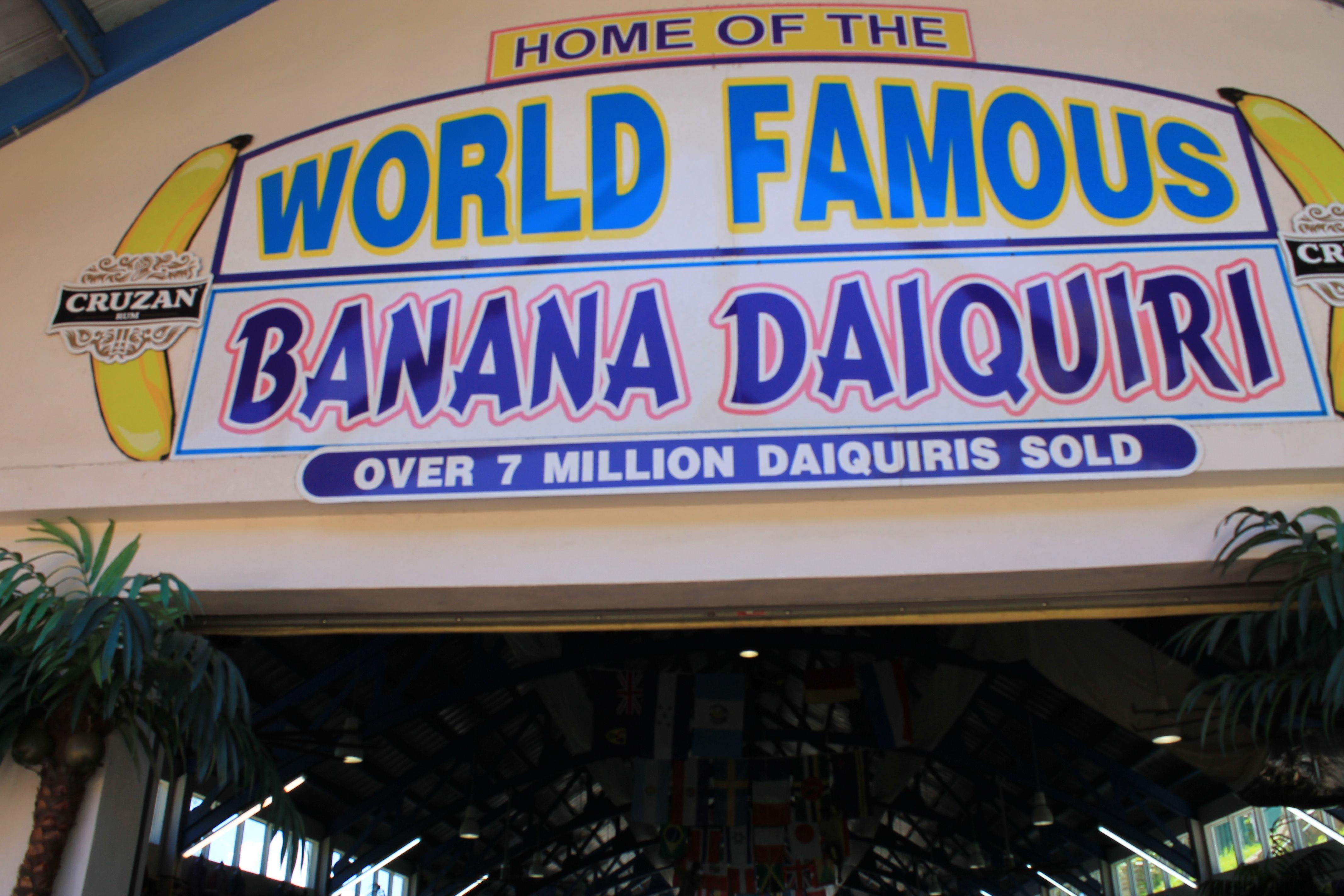 Tour of the Banana Daiquiri Find this