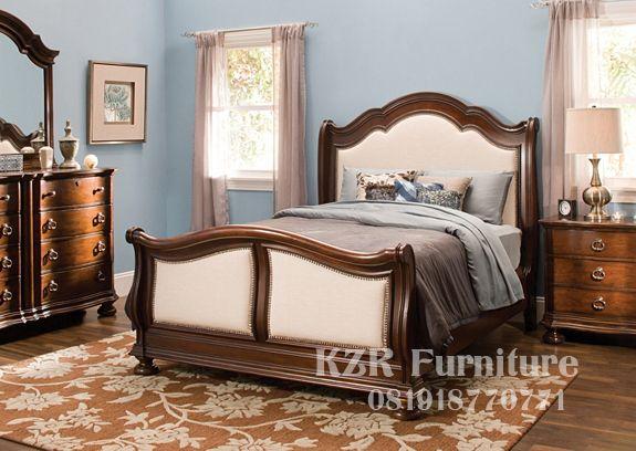 tempat tidur kayu jati klasik modern decor bedroom bedroom sets rh pinterest com